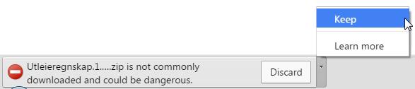 Chrome er ei pyse