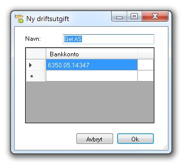 ImportNyDriftsutgift